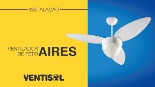 getlinkyoutube.com-Instalação Ventilador de Teto Aires Ventisol