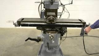 getlinkyoutube.com-Lagun Republic FTV-S2 Vertical Milling Machine