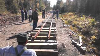 getlinkyoutube.com-WW&F Railway Fall Work Weekend, October 2014