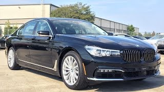 getlinkyoutube.com-2017 BMW 7 Series 740i Full REVIEW, Start Up, Exhaust