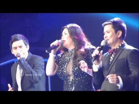 45-124 David Archuleta - Nandito Ako w/ Mr & Mrs A @ Regine-Ogie Concert (14 Feb 2012)