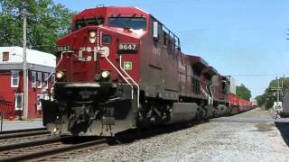 getlinkyoutube.com-Trains on the Norfolk Southern Harrisburg Line 2008: Volume 1