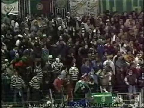 Vitesse - 0 Sporting - 2 de 1990/1991 UEFA 1/8 Final