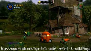 getlinkyoutube.com-LEGO Harry Potter Walkthrough - Year Two: Floo Powder! Part 1