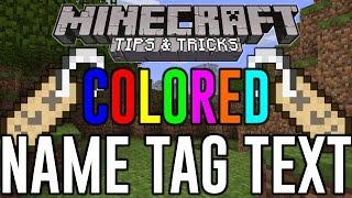 getlinkyoutube.com-Minecraft - Colored Name Tag Text - Hidden Color Glitch Minecraft TU47 CU37(PS4 & Xbox One)