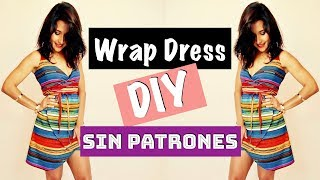 DIY | Wrap dress, sin patrones!