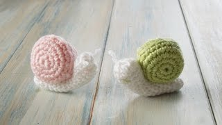 getlinkyoutube.com-(crochet) How To Crochet a Snail - Yarn Scrap Friday