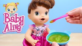 getlinkyoutube.com-Baby Alive My Baby All Gone Doll Pees and Poops Doll Toy Review