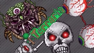 getlinkyoutube.com-Terraria iOS All Bosses At Once (Hardmode Bosses) 1.1