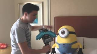 "getlinkyoutube.com-MINECON - ""UNBOXING Con Luzo"" 