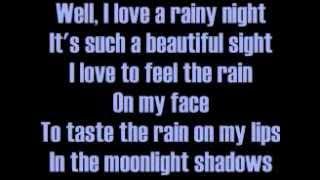 getlinkyoutube.com-Eddie Rabbitt I Love A Rainy Night Lyrics