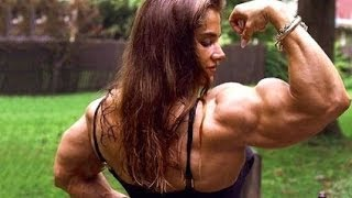 getlinkyoutube.com-Biggest Female BODYBUILDERS SUPER PUMPED!