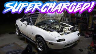 ★★ Mazda MX-5 Miata NA Supercharger 200hp+ ★★ FFS Kit