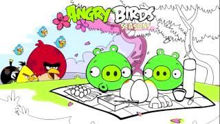 getlinkyoutube.com-Angry Birds Coloring for Children - Coloring for kids ANGRY BIRDS