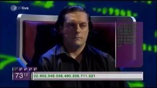 getlinkyoutube.com-Das Superhirn 2013 - Schneller als der Taschenrechner