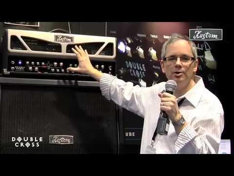 Robert Egnacheski - 2009 NAMM - Kustom Amplification -Double Cross