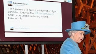 Her Majesty the Queen sends her first tweet