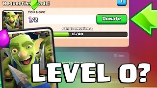 getlinkyoutube.com-WHAT HAPPENS IF YOU DONATE YOUR LAST CARD | Clash Royale | Goblin Gang