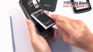getlinkyoutube.com-Samsung Galaxy Nexus GT -I9250 Extended Battery with Oversized Battery Door 3600mAh