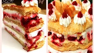 getlinkyoutube.com-Princes torta s malinama - Princess Cake with Raspberries