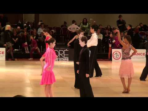2011 USA Dance National DanceSport Championships - Youth Gold Latin - Cha Cha & Rumba