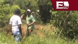 getlinkyoutube.com-Invasores agreden a machetazos a propietarios de terrenos en Campeche / Todo México