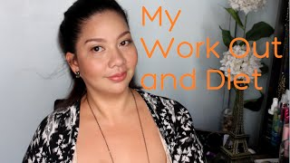 getlinkyoutube.com-Paano magpapayat?! my work out and diet
