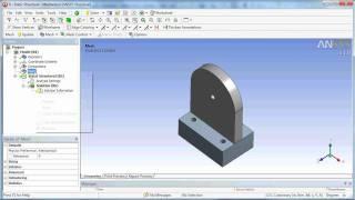 getlinkyoutube.com-Ansys Workbench Cad Transfer from Solidworks & Design Modeler