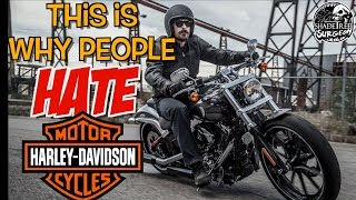 getlinkyoutube.com-This is why people HATE Harley Davidson motorcycles