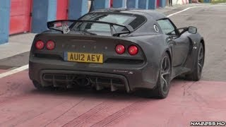 getlinkyoutube.com-Lotus Exige S V6 Launches and Fast Accelerations!