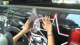 Rockstar Metal Mulisha Sticker En Ford Lobo F150 Glaubendes