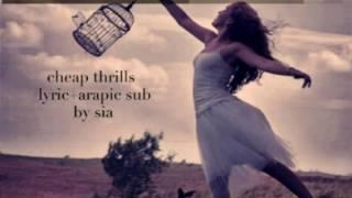 getlinkyoutube.com-ترجمة اغنية سيا - Sia - cheap thrills lyrics + arapic sub