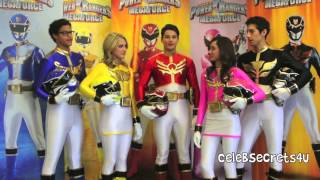 Meet The Cast of 8220;power Rangers Megaforce&#8221