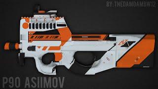 getlinkyoutube.com-• [PB] - Pack P90 ASIIMOV - ŦÐÐ