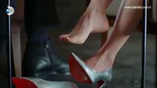 getlinkyoutube.com-Canan Ergüder Güllerin Savaşı Turkish Celebrity Feet