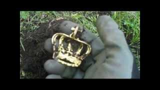 getlinkyoutube.com-I found The Crown Jewels! Garrett AT Pro Metal Detecting