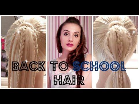 Coafuri Simple de Facut Acasa - Coafuri Scoala - Back To School Hairstyles