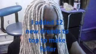 getlinkyoutube.com-Repair To Thinning Grey Dreads