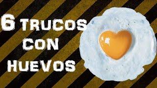 getlinkyoutube.com-6 TRUCOS CON HUEVOS