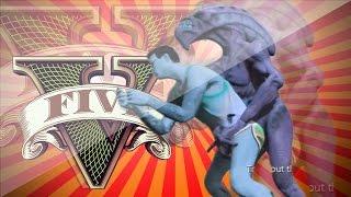getlinkyoutube.com-GTA V Mods - [เอเลี่ยนบุกโลก ฮา] - เย็ด UFO ชักว่าวใส่ต้นไม้