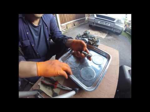 Как снять личильник замка и отремонтировать chrysler dodge