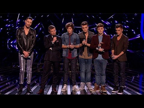 The Result - Live Week 8 - The X Factor UK 2012