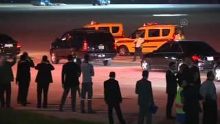 getlinkyoutube.com-Saudi King Salman arrives in Turkey
