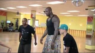 getlinkyoutube.com-Justin Bieber Dance off vs ShaQ Best dance EVER !!!