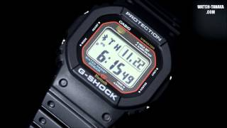 getlinkyoutube.com-CASIO G-SHOCK Bluetooth V4.0 GB-5600AA-1JF