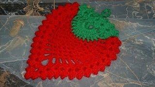 "getlinkyoutube.com-""Прихватка ягодка"" (Oven gloves ""Berry"")"