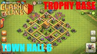 getlinkyoutube.com-BEST Town Hall Level 6 Defense Strategy for Clash of Clans