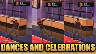 getlinkyoutube.com-NBA 2K16 - All Dances and Celebrations