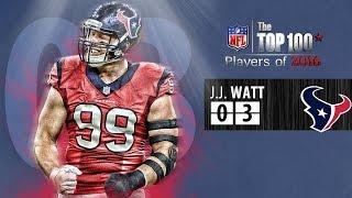 getlinkyoutube.com-#03 J.J.Watt (DE, Texans)   Top 100 Players of 2016