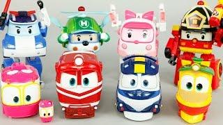 getlinkyoutube.com-로봇트레인 로보카폴리 장난감 변신 비교 터닝메카드 미니특공대 옥토넛 GUP-X 레스큐 Robocar Poli & Robot Train Toys Робокар Поли Игрушки
